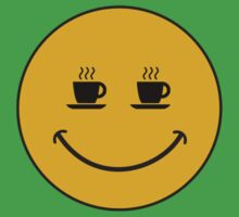Smiley Coffee Kids Clothes