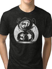 cool saiyan silhouette Tri-blend T-Shirt