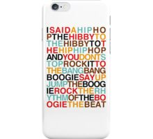 sugarhill - rappers delight iPhone Case/Skin