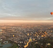 Sweeping view of Melbourne by Nils Versemann