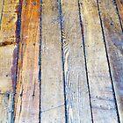 Floorboards  by Ethna Gillespie