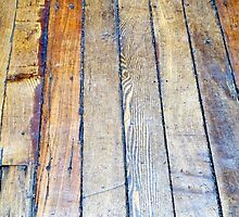 Floorboards  by Ethna Gillespie