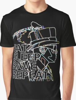 AD Eat Sleep Rave Repeat Graphic T-Shirt