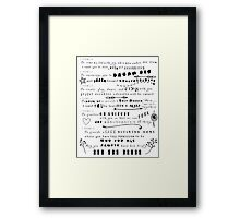 A Mothers Promise Framed Print