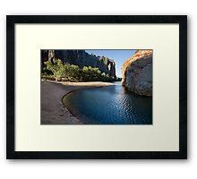 Lennard River Framed Print
