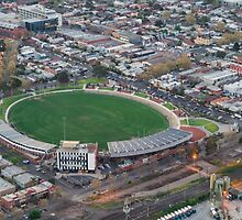 Victoria Park, Collingwood football stadium by Nils Versemann