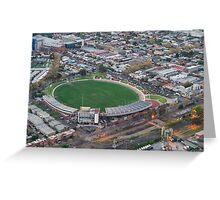 Victoria Park, Collingwood football stadium Greeting Card