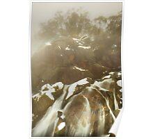 Winter mist, Crystal Brook Falls Poster