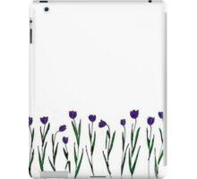 quick tulip sketch iPad Case/Skin