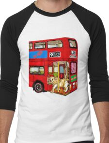 Elephant Bus 578 Men's Baseball ¾ T-Shirt