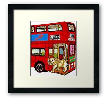 Elephant Bus 578 Framed Print