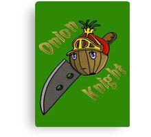 Onion Knight Canvas Print