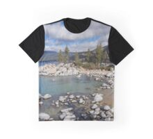 A View of Sand Harbor  Graphic T-Shirt