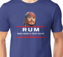 Vote for Rum Sparrow16 Unisex T-Shirt