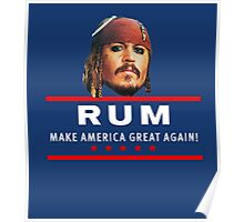 Vote for Rum Sparrow16 Poster