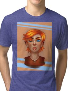 Orange | Color Series Tri-blend T-Shirt
