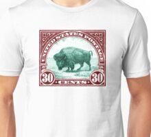 Antique 1923 U.S. American Buffalo Postage Stamp Unisex T-Shirt