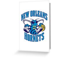 New Orleans Hornets Greeting Card