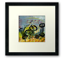 Buffalo Factory- Tricycles Framed Print