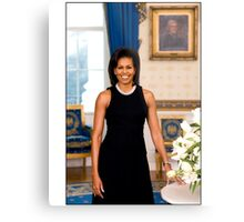 Michelle Obama First Lady Metal Print