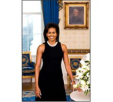 Michelle Obama First Lady Photographic Print