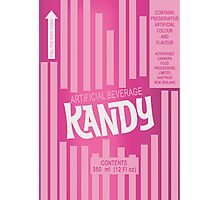 Kandy Beverage Photographic Print