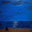 Contemplation at the Beach by mercale