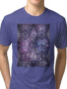 Metallic Space Tree Tri-blend T-Shirt