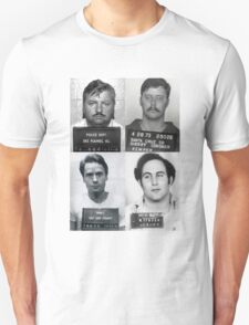 Serial Killers Mugshotc Unisex T-Shirt