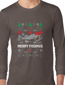 Merry Fishmas Long Sleeve T-Shirt