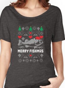 Merry Fishmas Women's Relaxed Fit T-Shirt