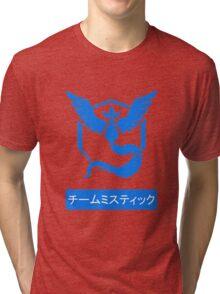 Team Mystic Pokemon Go Design Japanese Tri-blend T-Shirt
