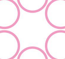 tranSacred circles Sticker