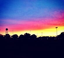 Sunset in UC Davis by omhafez