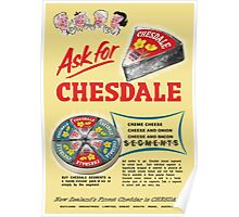 Chesdale Cheese Poster
