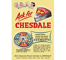 Chesdale Cheese Photographic Print