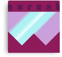 Pixel Visor Canvas Print
