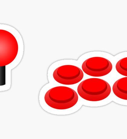 Arcade Stick Sticker