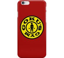 GOKU'S GYM iPhone Case/Skin