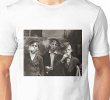 New York Newsies Smoking Cigarettes 1899 Unisex T-Shirt