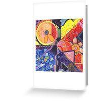 The Joy of Design VII Greeting Card