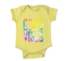 Good Vibes One Piece - Short Sleeve