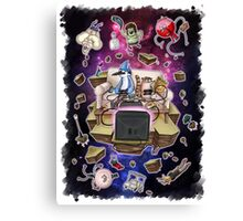 Regular Show Lost in Universe Canvas Print