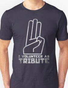 I Volunteer As Tribute Unisex T-Shirt