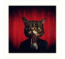MEW-OOD - Kitty Ood Halfbreed Portrait Art Print