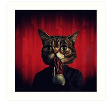 MEW-OOD - Kitty Ood Halfbreed Portrait Art Print