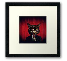 MEW-OOD - Kitty Ood Halfbreed Portrait Framed Print