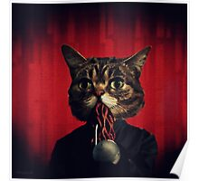 MEW-OOD - Kitty Ood Halfbreed Portrait Poster