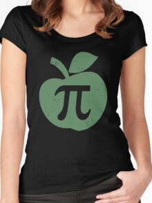 Apple Pie Pi Day Women's Fitted Scoop T-Shirt