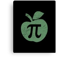 Apple Pie Pi Day Canvas Print